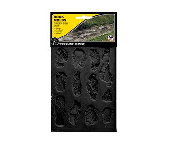 Woodland Scenics Rock Mold - Creek Bank C1245