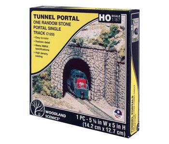 Woodland Scenics Tunnel Portal random Stone - Single (Ho) C1255