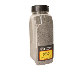 Woodland Scenics Shaker Ballast medium Grey (32 Oz) B1382