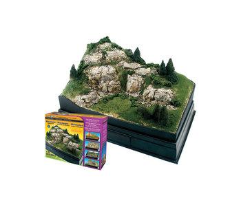 Woodland Scenics Kit - Mountain diorama SP4111