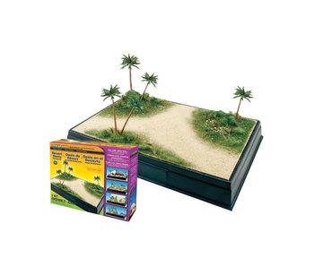 Woodland Scenics Kit - Desert Oasis diorama SP4112