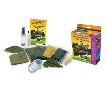 Woodland Scenics Kit - Bush / Foliage / Grasses SP4120