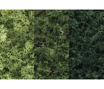 "Woodland Scenics Tree Kit - Green deciduous (3""-5"") (14/Pk) TR1102"
