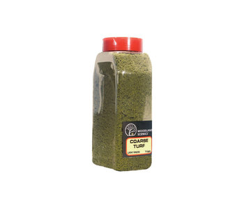 Woodland Scenics Shaker Turf - Coarse light Green (32 Oz) T1363