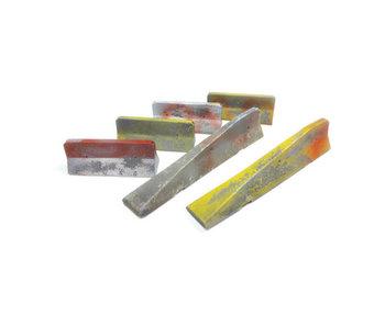 Vallejo Urban Concrete barriers - 6 Pieces (1/35) (SC228)