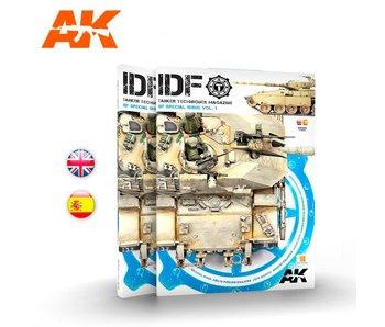 AK Interactive Tanker Special Idf 01 - Bilingual