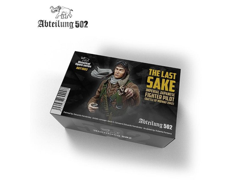 Abteilung 502 Abteilung 502 1/10 The Last Sake Imperial Japanese Fighter Pilot Figure Kit