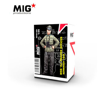 MIG 1/35 WSS HJ Panzer Officer, Normandy 1944
