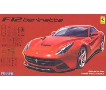 Fujimi 1/24 RS-33 Ferrari F12 berlinetta DX