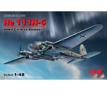 ICM He 111H-6, WWII German Bomber