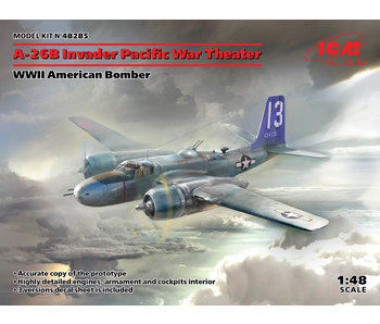 ICM A-26B Invader Pacific War Theater WWII American Bomber