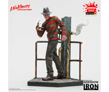 Freddy Krueger Deluxe Art Scale 1:10 Statue - A Nightmare on Elm Studios (Iron Studios)