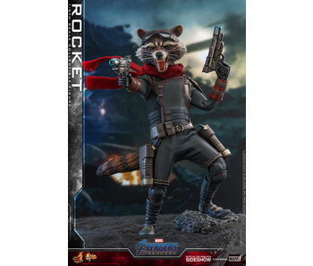 Rocket Sixth Scale Figure - Avengers: Endgame (Hot Toys)