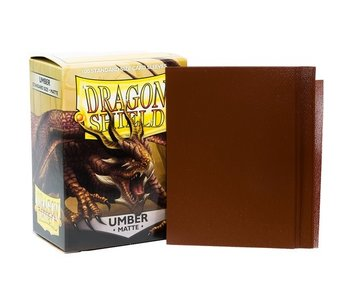 Dragon Shield Sleeves Matte Umber(100)