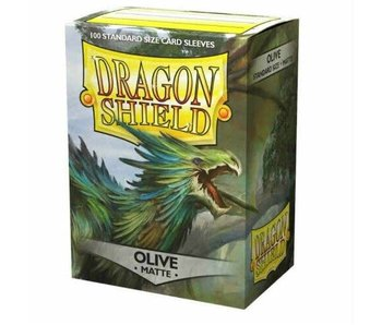 Dragon Shield Sleeves Matte Olive(100)