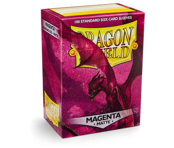 Dragon Shield Sleeves Matte Magenta(100)