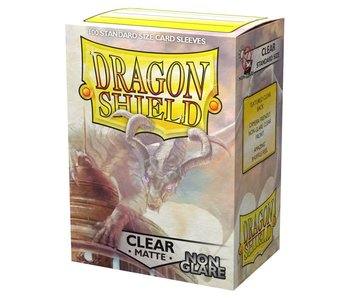 Dragon Shield Sleeves Matte Clear Non Glare(100)