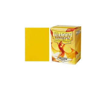 Dragon Shield Sleeves Matte Yellow(100)
