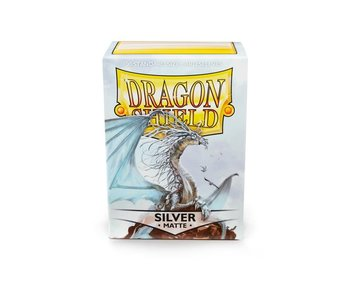 Dragon Shield Sleeves Matte Silver(100)