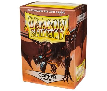 Dragon Shield Sleeves Matte Copper(100)
