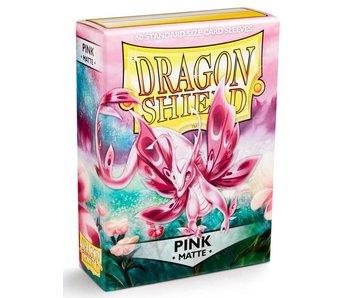 Dragon Shield Sleeves Matte Pink(60)