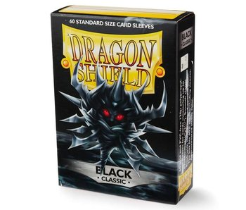 Dragon Shield Sleeves Classic Black(60)