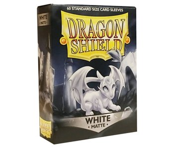 Dragon Shield Sleeves Matte White(60)
