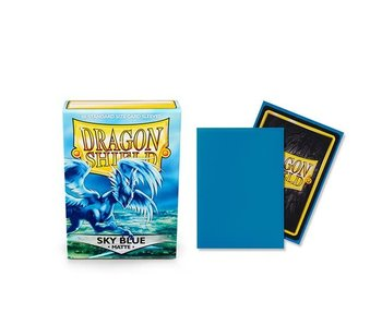 Dragon Shield Sleeves Matte Sky Blue(60)