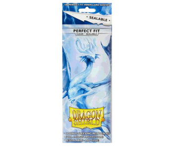 Dragon Shield Perfect Fit Sleeves Sealable Clear(100)