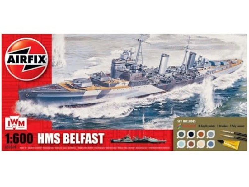 Airfix Airfix 2020 HMS Belfast Gift Set