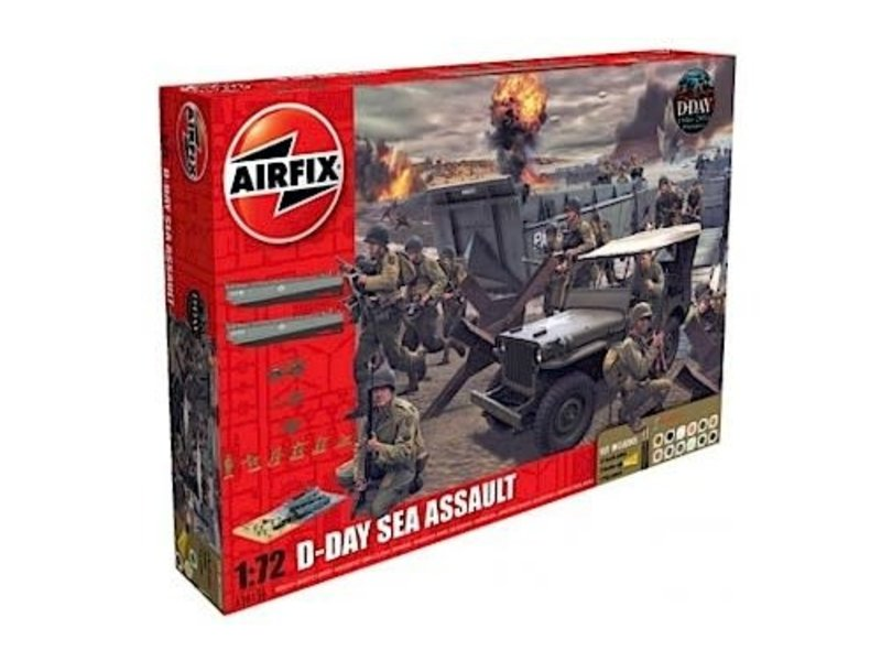 Airfix Airfix D-Day 75th Anny Sea Assault