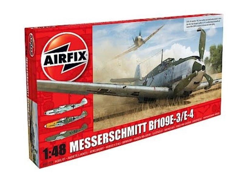 Airfix Airfix 1:48 Messerschmitt Me109E-4/E-1