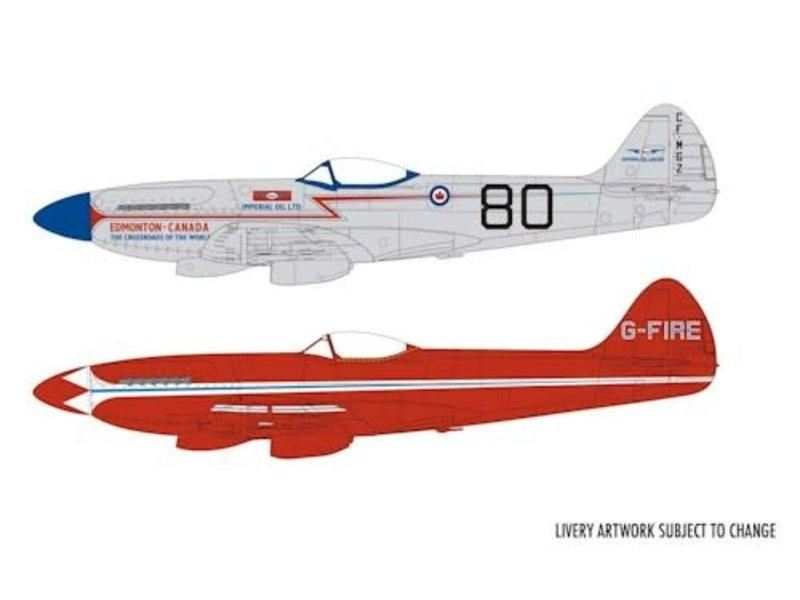 Airfix Airfix 2020 Supermarine Spitfire MkXIV civilian schemes