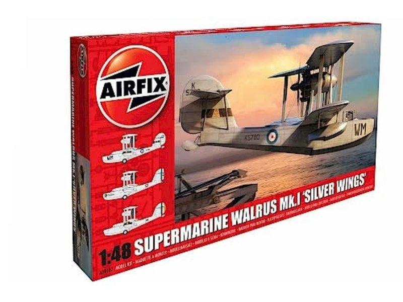 Airfix Airfix 1:48 Supermarine Walrus Silver Wings