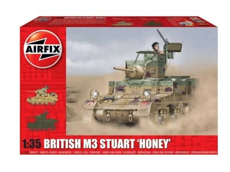 "Airfix Airfix M3 Stuart ""Honey"" (British Version)"