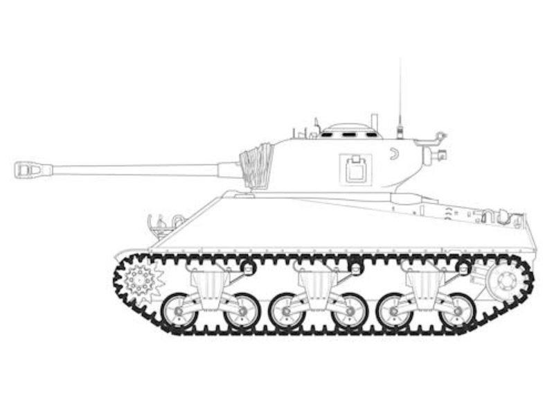 Airfix Airfix M4A3(76)W Battle of the Bulge