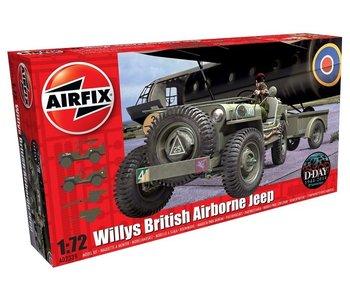 Airfix WILLYS JEEP  TRAILER & HOWITZER