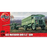 Airfix Airfix AEC Matador & 5.5inch Gun