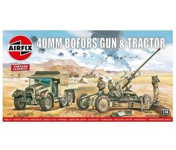 Airfix Bofors Gun & Tractor