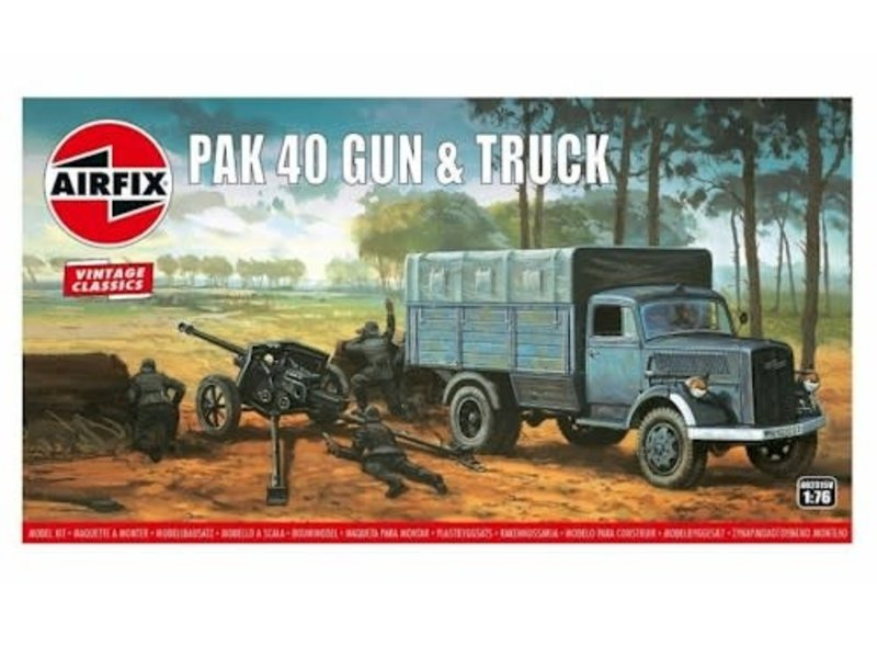 Airfix Airfix Opel Blitz & Pak 40 Gun