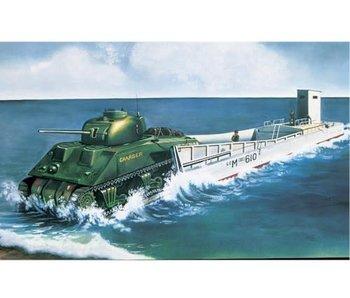 Airfix LCM3 & Sherman Tank