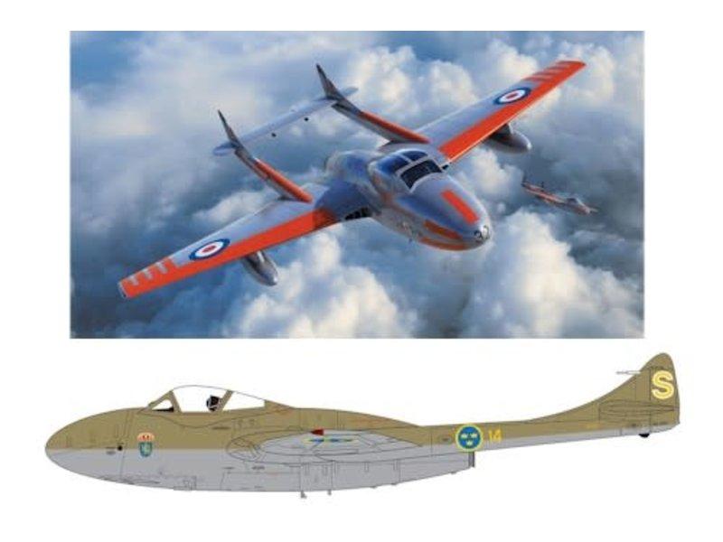 Airfix Airfix 1:72 deHavilland Vampire T.11 / J-28C
