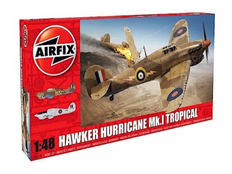 Airfix Airfix 1:48 Hawker Hurricane Mk1 - Tropical