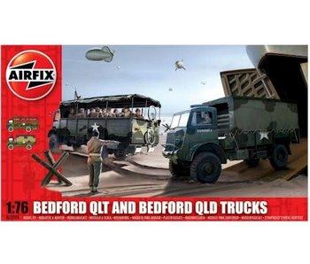 Airfix Bedford QLD/QLT Trucks