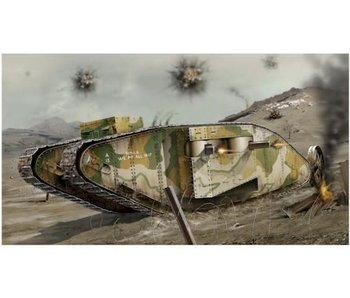 Airfix WWI Female Tanke