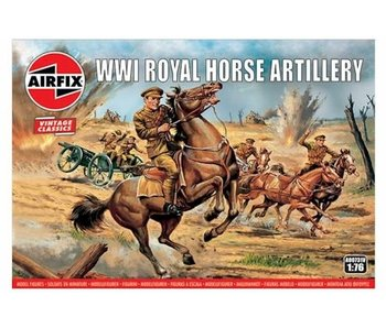 Airfix 1:72 WWI Royal House Artillery