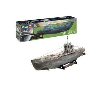 Revell German Submarine Type VII C/41 Platinum Edit.