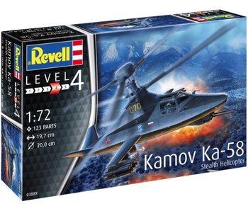 Revell Kamov Ka-58 Stealth Helicopter