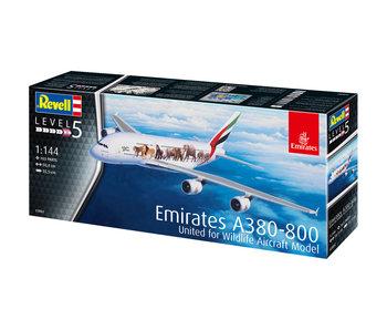"Revell Airbus A380-800 Emirates ""Wild L"