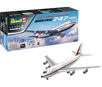 Revell MODEL SET Boeing 747-100 50th